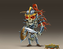 Mythica enemy characters
