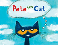 Pete the Cat website for Harper Collins