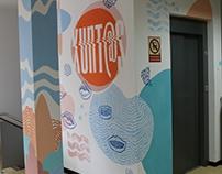 Xeracion office mural