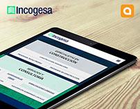 Incogesa | Diseño de Logotipo y Desarrollo Web