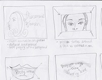 Storyboards and Sketches