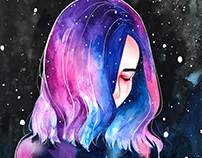 Night Series Watercolor