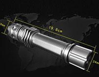 Lo sviluppo del puntatore laser