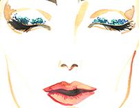 Face-чарт: стилизация лица с макияжем