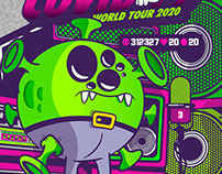 COVID 19 WORLD TOUR