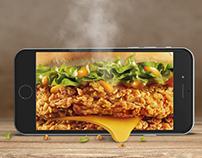 KFC App Advertisment