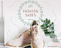 Fashion Shoes   Modern and Creative Templates Suite
