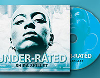 Underrated 4Panel Digipak CD Artwork - Templates Under