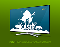 KASIF | NATURE PROGRAM LOGO, OPENER & GRAPHIC PACKAGE