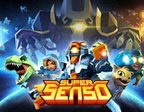 Super Senso 3D Unit Concepts