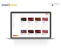 Event Management Dashboard Free Download | Adobe XD