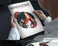 Minimal Photography Portfolio Magazine