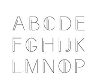 experimental lettering
