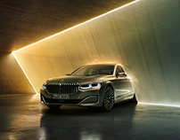 BMW 7 Series – Full CGI with Alessandra Kila