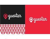 Guestar.com (naming + logo + icon set)