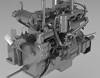 Diesel engine M-17