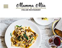 Mamma Mia - Web Mobile (proyecto universitario)
