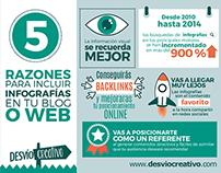 5 razones para incluir Infografías en tu Blog