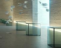 CGI - Corridor in Museum of Art