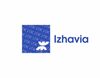 Izhavia Airlines rebranding concept