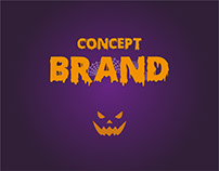 Concept brands in the world on a Halloween theme !