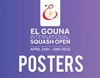 ElGouna Squash Open-Poster designs