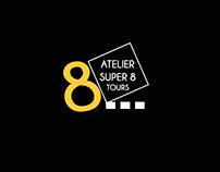 Logotype Atelier Super8