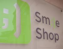 """naming, creazione brand e allestimento """"The Smile Shop"""""""