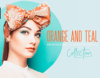 ORANGE AND TEAL LIGHTROOM PRESETS + PHOTOSHOP ACTIONS
