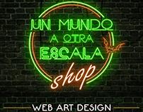 Web art design - Un mundo a otra escala