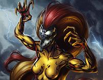Scream, Donna Diego symbiote
