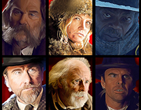 The Hateful 8 - Fan Art