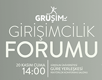 Entrepreneurship Forum at Giresun University