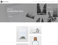 Portfolio Slider - Minimalist WordPress Theme