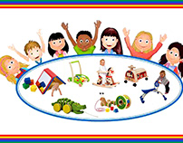Children's Kits Flyer design