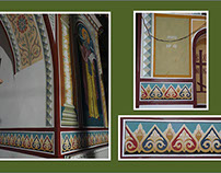 MURALS: FRIEZE-ORNAMENTS - Etropolski Monastery, BG