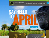 Save the Chimps Website