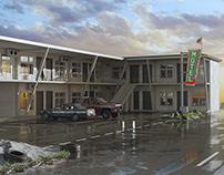Motel in California