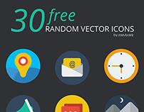 30 FREE RANDOM VECTOR ICON