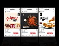 Social Media: Restaurant Product Marketing Banner