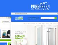 PureGreen Website Design