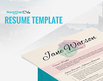 Resume Template Kiania