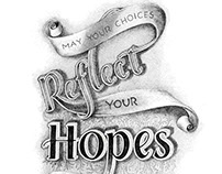 Drawing Courage #3: Reflect Hope