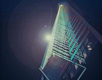 Night building illustration