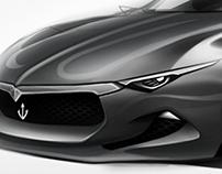 Sketch Maserati Ettore