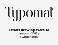 Typomat — autumn 2015–winter 2016