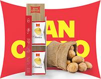 Chips counter display // San Carlo