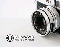 PHOTOGRAPHER LOGO (RAHMA AMR)