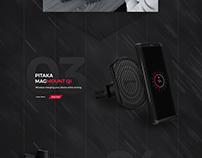 Product Website Showcase Design