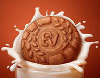 Bournvita - Biscuits CGI